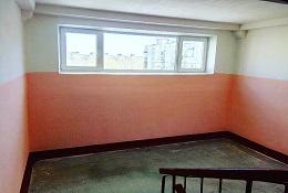 Косметический ремонт подъезда № 8 в доме по адресу ул. Сигаева, 6