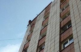 Укрепление фасадной плитки