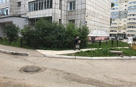 Ремонтные работы на придомовой территории по адресу ул. Сигаева, 4