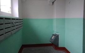Косметический ремонт подъезда №1 в доме по адресу ул. Зенкова, 4