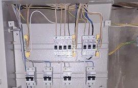 Капитальный ремонт электрооборудования в доме по адресу ул. Ким, 17