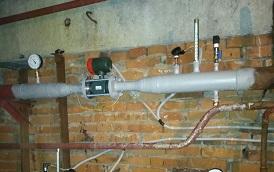 Установка общедомового прибора учета отопления в доме по адресу ул. Хрустальная, 28