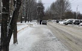 Уборка придомовых территорий от снега