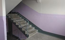 Косметический ремонт подъезда №1 в доме по адресу ул. Гашкова, 20