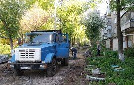 Благоустройство придомовой территории по адресу ул. Гашкова, 22