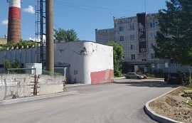 Благоустройство придомовой территории по адресу ул. Гашкова, 41