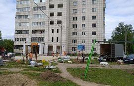 Благоустройство придомовой территории по адресу ул. Гашкова, 9а