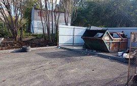 Монтаж контейнерной площадки по адресу ул. Гашкова 29б