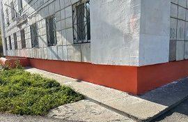 Ремонт цоколя дома по адресу ул. Гашкова, 11