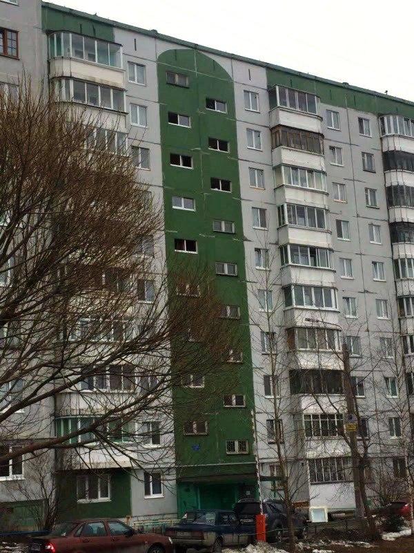 Замена межэтажных окон